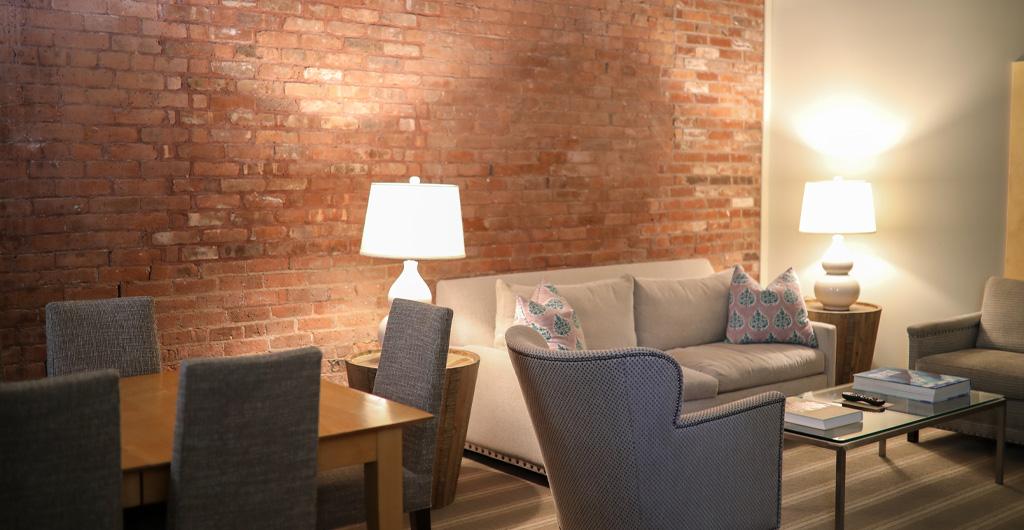 Studio Suite Living Area