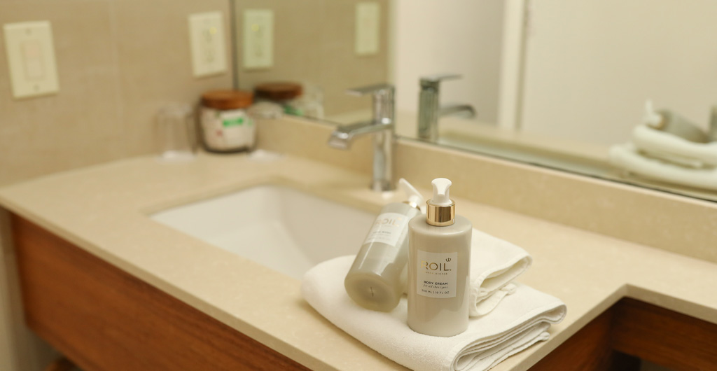 Included toiletries