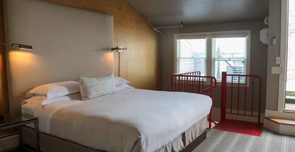 Townhouse Suite Bedroom